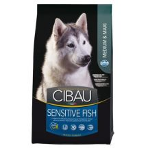 Farmina Cibau dog Sensitive Medium & Maxi pesce kg 12