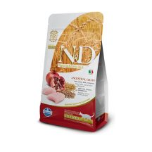 Farmina N&D Ancestral Cereals feline Neutered pollo e melograno 10 Kg