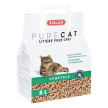 Lettiera gatto vegetale naturale 8l